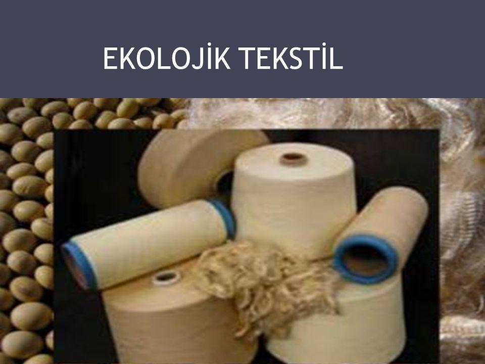  Ekolojik tekstil (Eko-Teks) 1990' ların başında çevre ve insan sağlığına uygun tekstil üretimini temel alan bir anlayışla ortaya atılmıştır.