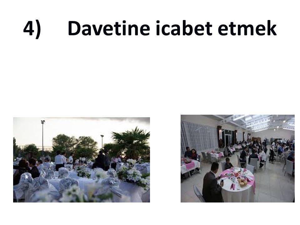 3) Cenazesine gitmek