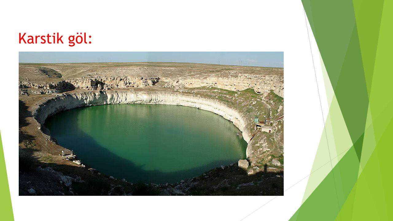 Kastik göl: