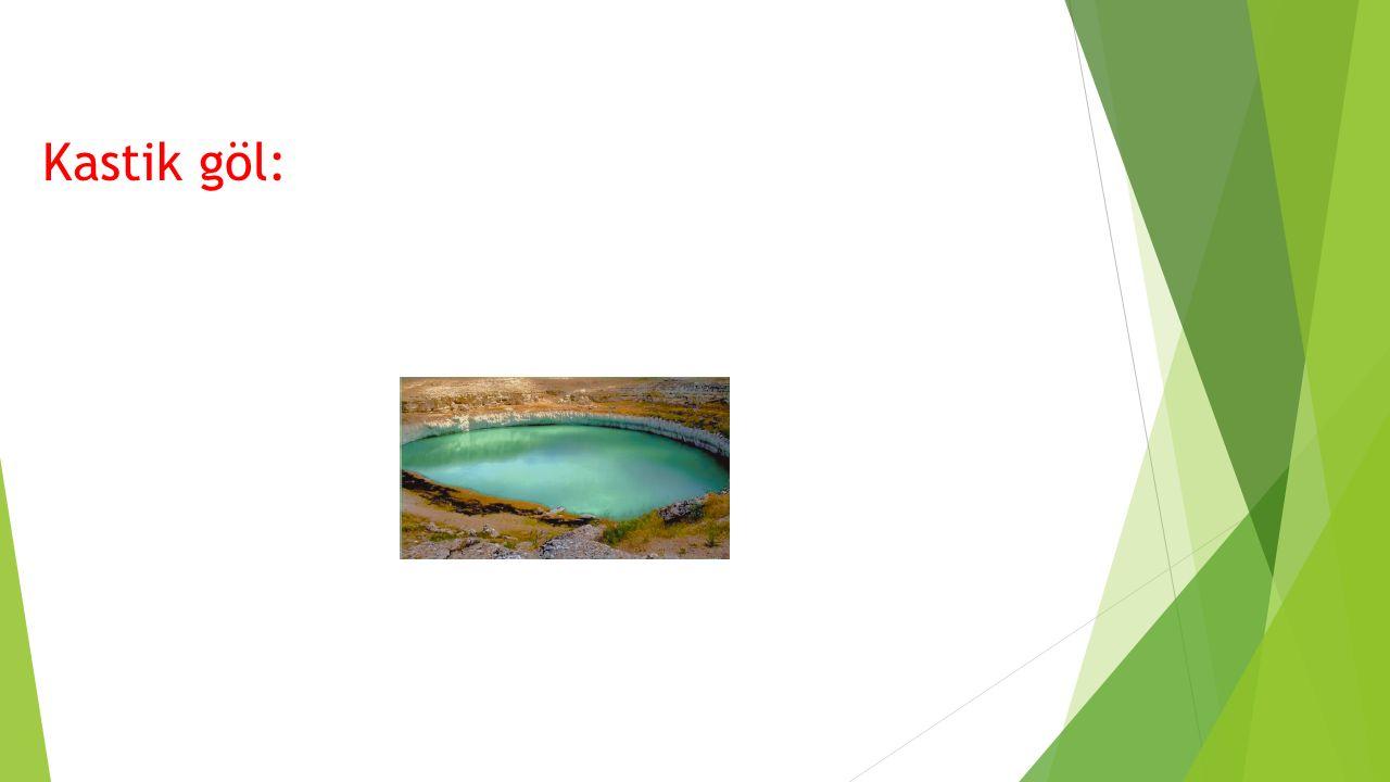 DOĞAL GÖLLER BUZUL GÖLLER:Buzul aşındırması ile oluşan çanaklarda suların birikmesi ile oluşan göllerdir.
