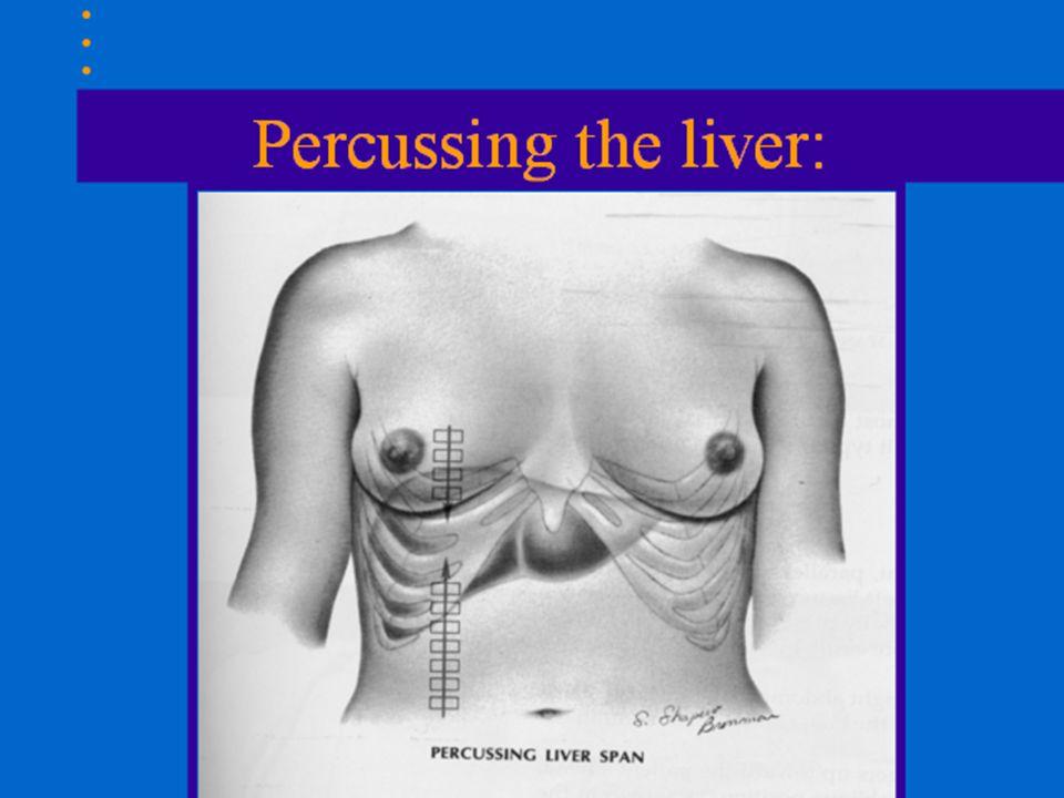 Matite alındığı takdirde şunlar düşünülmelidir: Dolu mide Splenomegali Sol alt plevral sıvı toplanması Karaciğerin sol lobunda büyüme Dekstrokardi