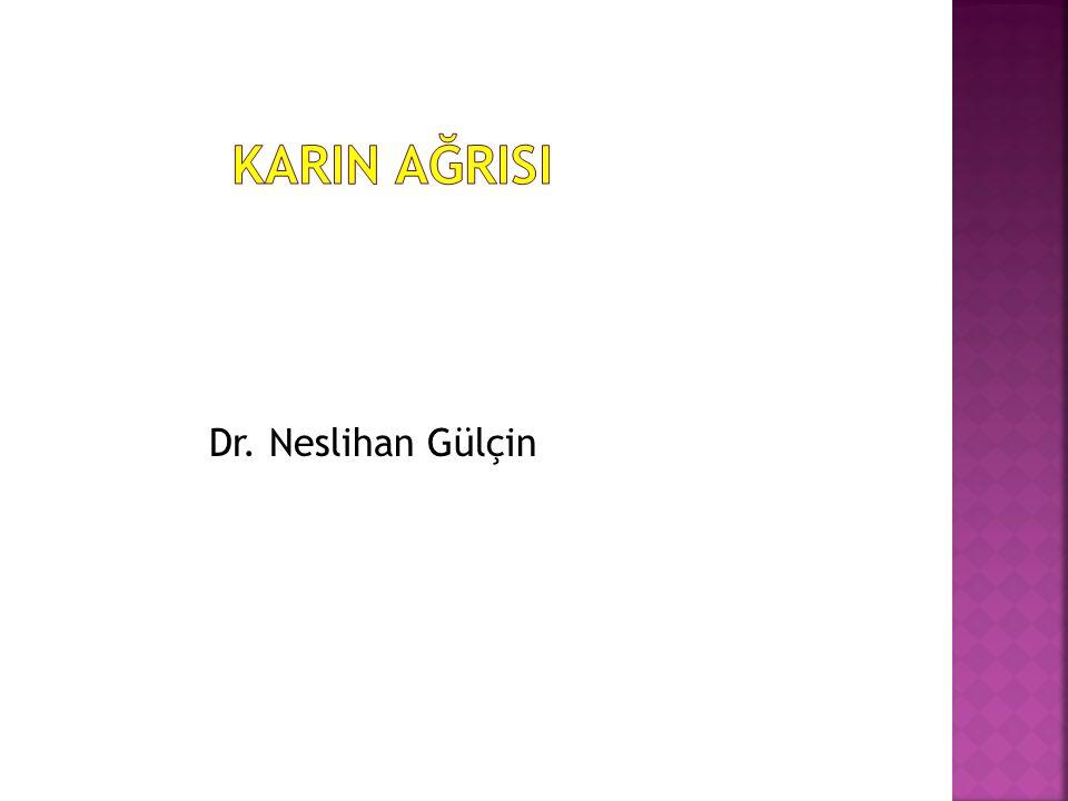 Dr. Neslihan Gülçin