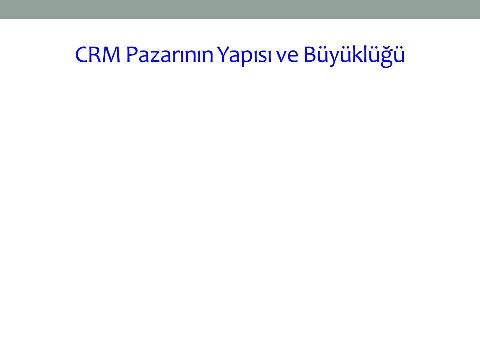 CRM Pazarının Yapısı ve Büyüklüğü