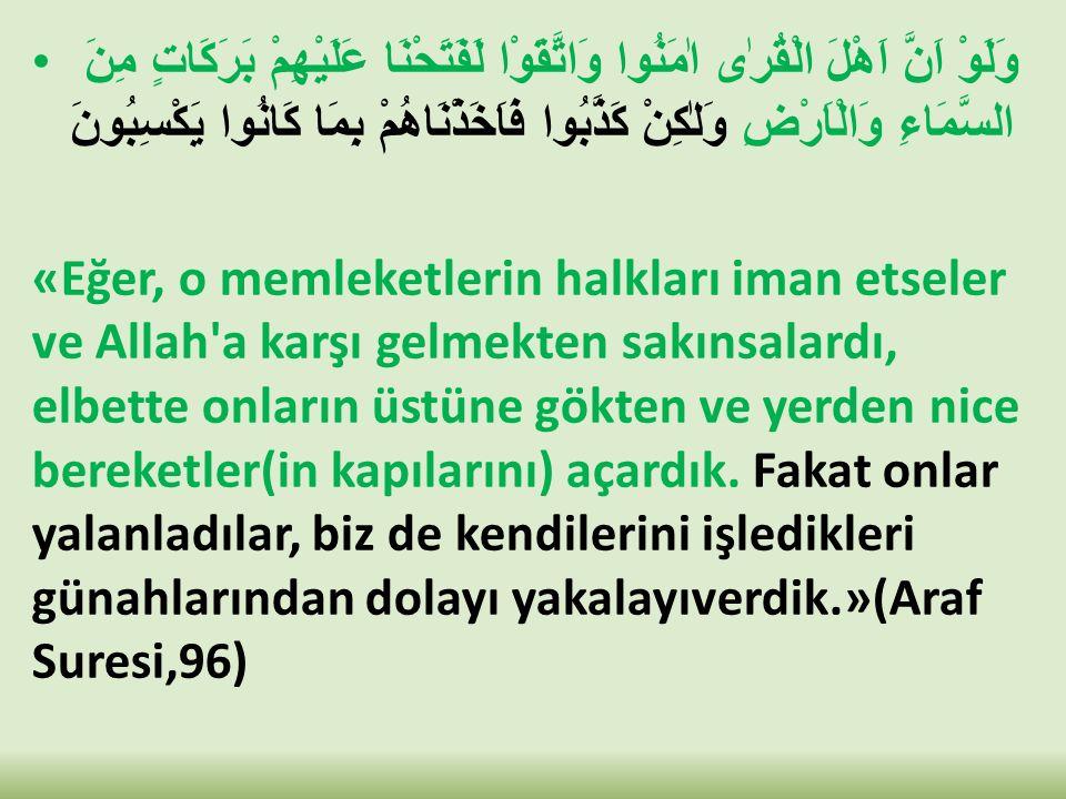 TAKVANIN FAYDALARI: a)Darlıktan çıkış ve kulun ummadığı yerden rızık gelmesi.(Talak,2,3) b)Her işte kolaylık olur.(Talak,4) c)Faydalı ilmi kolaylıkla elde eder.(Bakara,282) d)Basiret nuru verilir.(Enfal,29) e)Allah ve Melekleri Onu sever.(Ali İmran,76) f)Allah'ın yardımı Onunladır.(Müslim birr,4/2030,Taha,46,Hadid,4,Nisa,108) g)Düşmanın tuzaklarından korunursun.(Ali İmran,120)