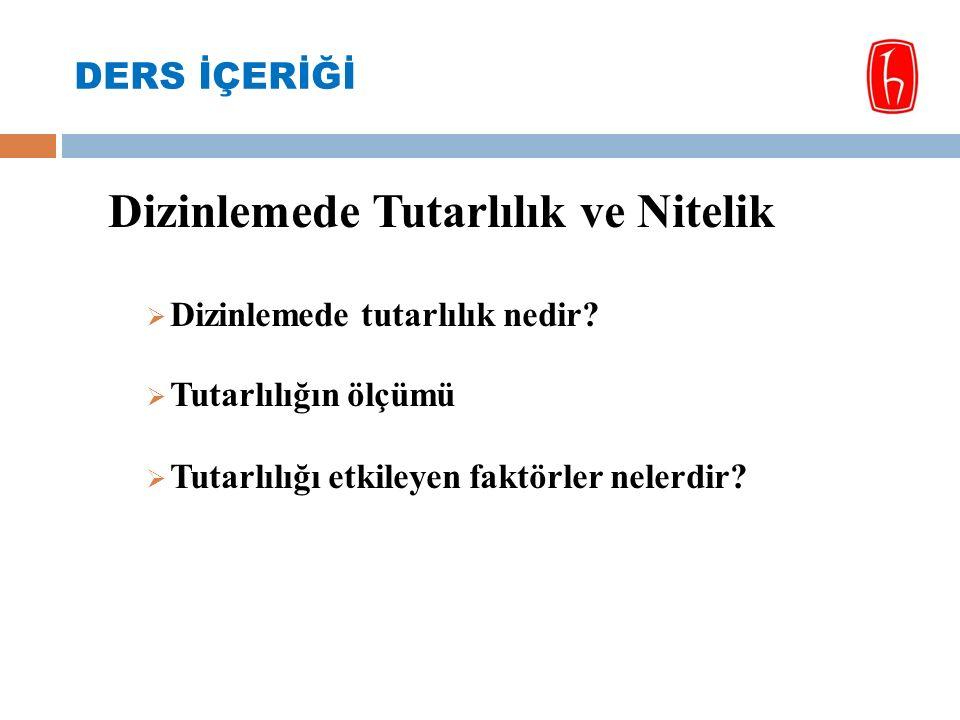 Dizinlemede yapılabilecek hatalar:  Çeviri hataları: 1- Konuyu tanımlayacak terimin kullanılmasında yapılan hatalar.