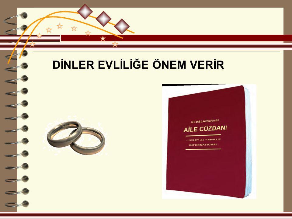 Evlilik, erkek ve kadının, hayatlarını paylaşmak üzere yaptıkları bir sözleşmedir.