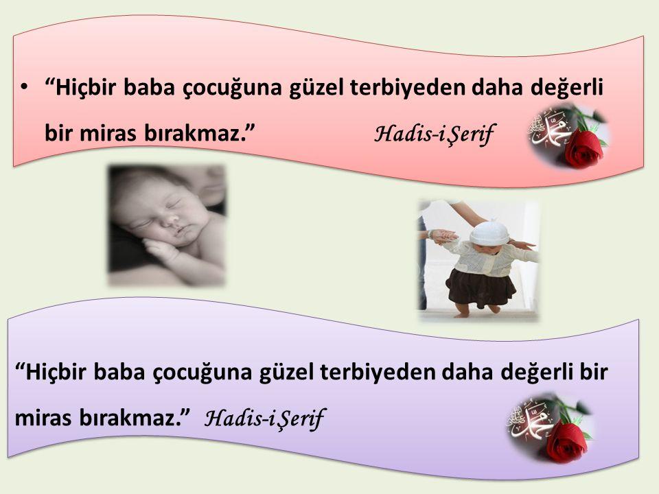 Çocukların da anne ve babalarına karşı görevleri vardır.