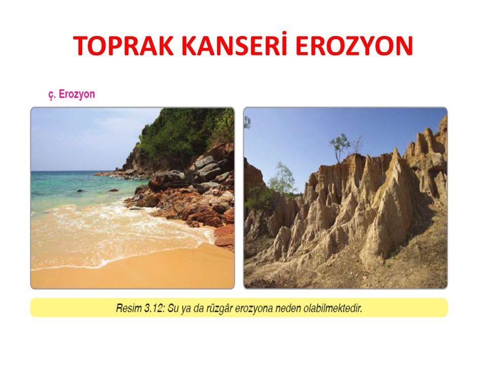 TOPRAK KANSERİ EROZYON
