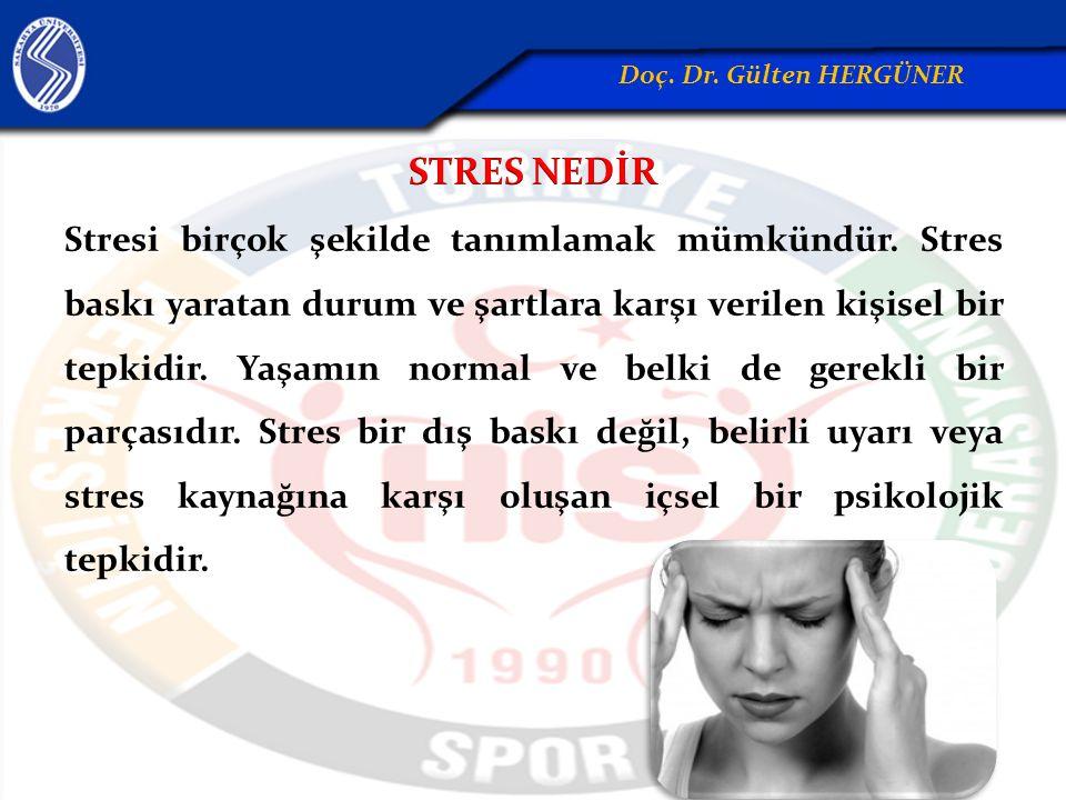 Stres genellikle olumsuz anlamda ele alınmaktadır.