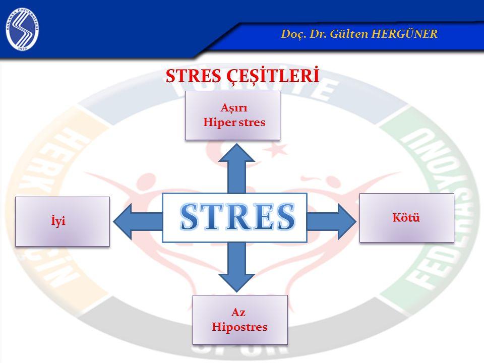 Stres tedavisinde de egzersiz; aşırı reaksiyonlar, asabiyet, hırçınlık, ve kavgacılık gibi eğilimleri ortadan kaldırmak için yararlı görülmektedir.