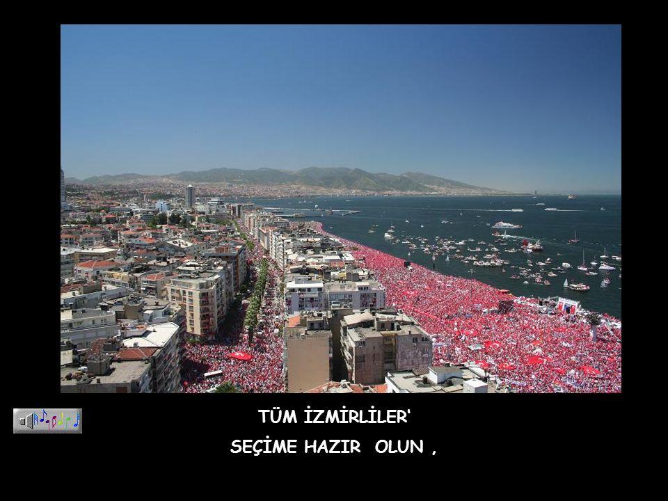 Tavrına hayran olayım, Cumhuriyet in, devrimlerin kalesidir İzmir Laikliğin başkenti İzmir AKP nin olmayacaktır.