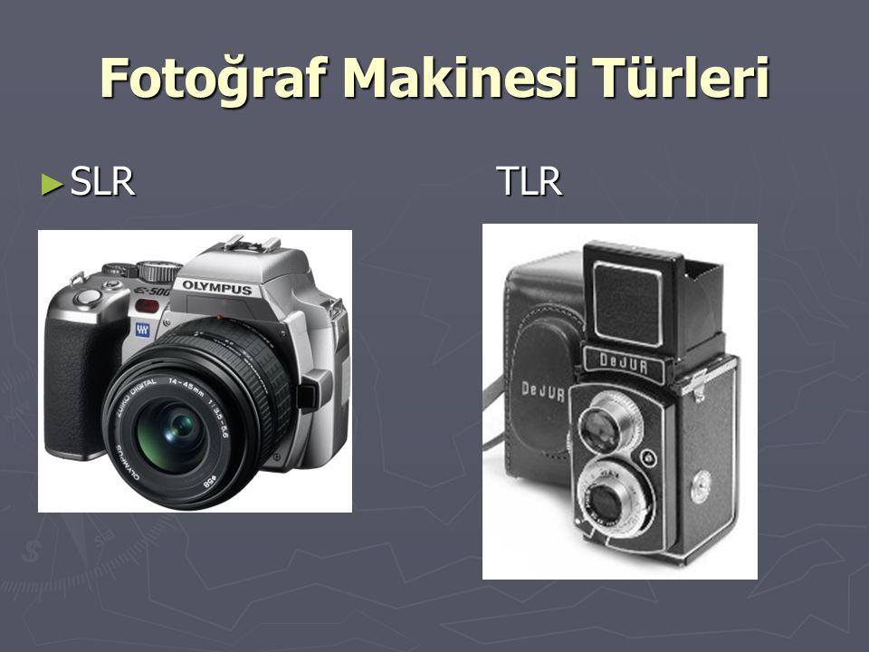 Fotoğraf Makinesi Türleri ► SLR TLR