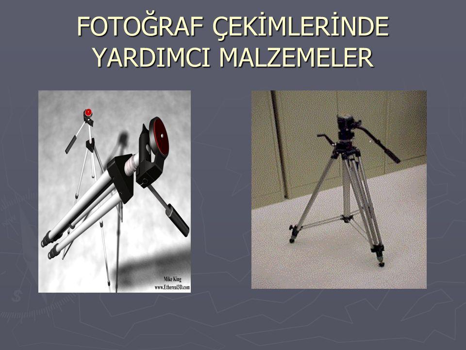 FOTOĞRAF ÇEKİMLERİNDE YARDIMCI MALZEMELER