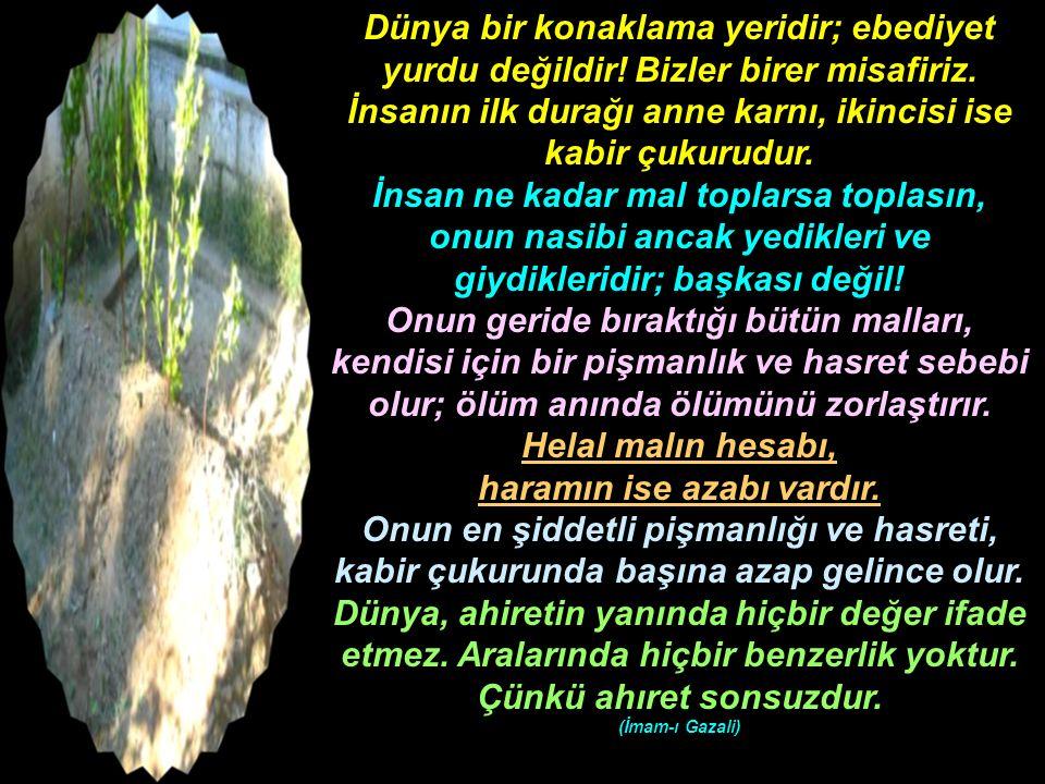 -Ebu'd-Derdâ (r.a.) şöyle buyurmuştur: Mü'min, haberi olmadığı halde mü'minlerin kalben kendisine buğz etmelerinden sakınsın.
