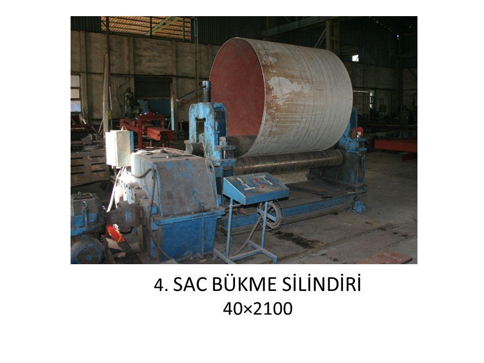 4. SAC BÜKME SİLİNDİRİ 40×2100