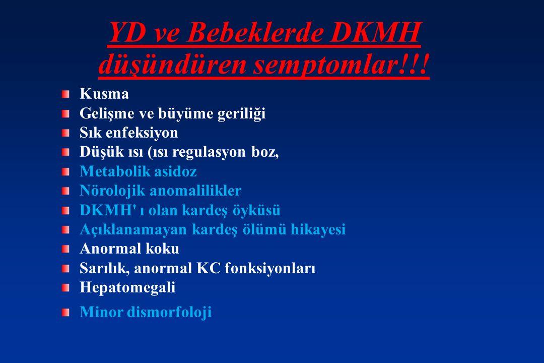 YD ve Bebeklerde DKMH düşündüren semptomlar!!.
