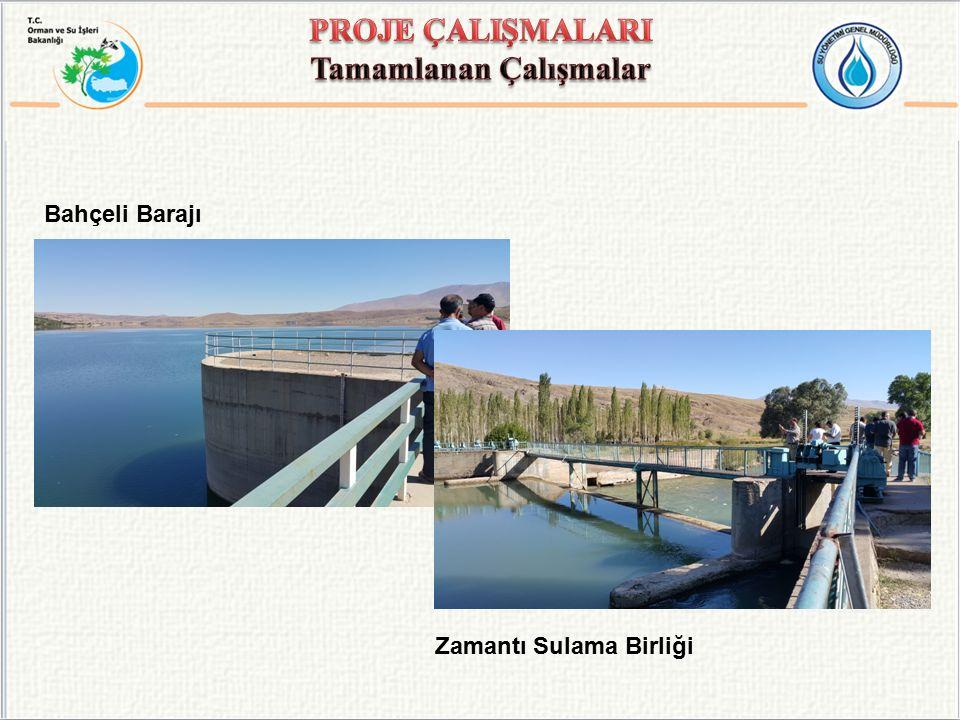 Bahçeli Barajı Zamantı Sulama Birliği