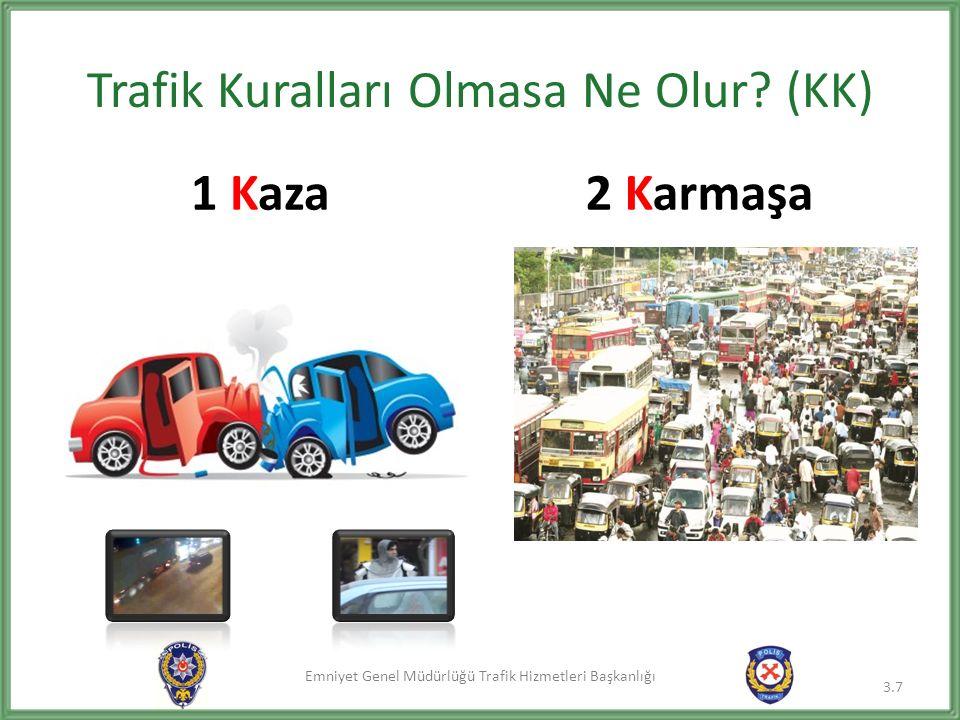 Emniyet Genel Müdürlüğü Trafik Hizmetleri Başkanlığı Trafik Kuralları Olmasa Ne Olur? (KK) 1 Kaza2 Karmaşa 3.7
