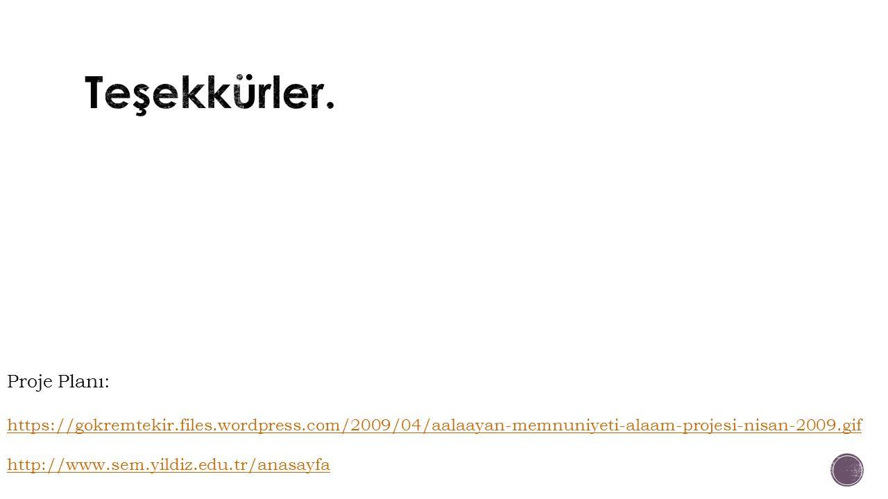 Proje Planı: https://gokremtekir.files.wordpress.com/2009/04/aalaayan-memnuniyeti-alaam-projesi-nisan-2009.gif http://www.sem.yildiz.edu.tr/anasayfa