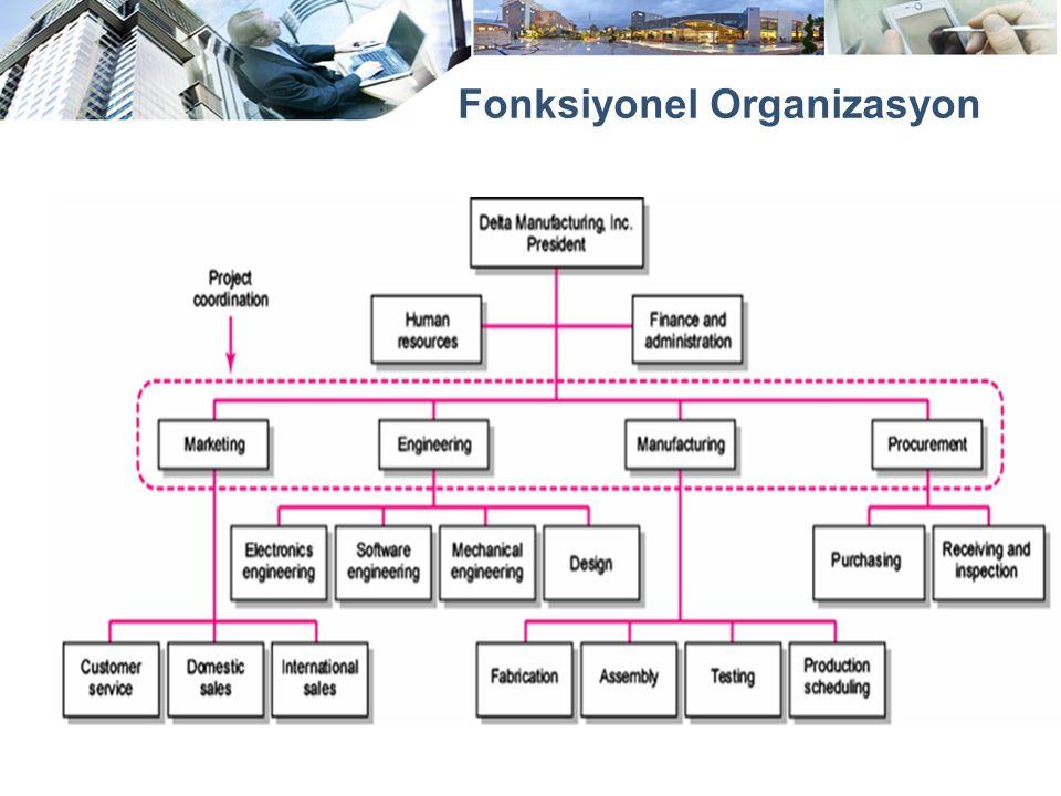 Fonksiyonel Organizasyon
