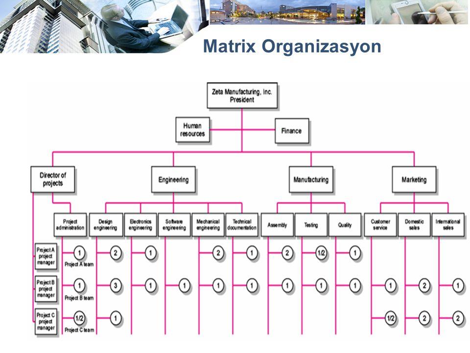 Matrix Organizasyon