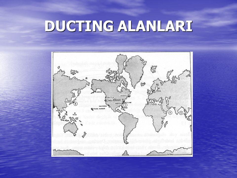 DUCTING ALANLARI