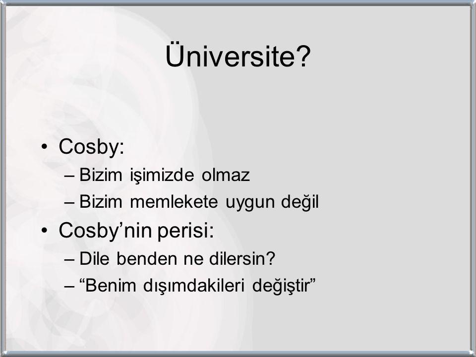 Üniversite.