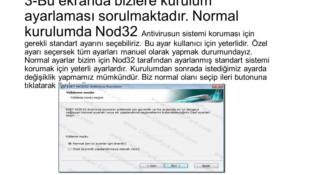 4-Bu ekranda bize gerekli güncellemeleri sisteme almak için kullanıcı adı ve parola sorulmaktadır.