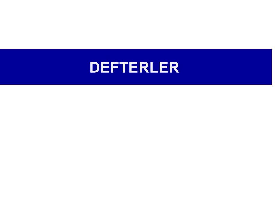 DEFTERLER