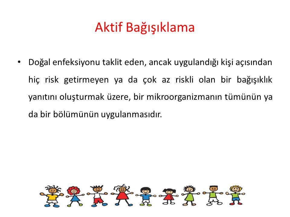 Türkiye'de uygulanan aşı takvimi (Sağlık Bakanlığı) 0.