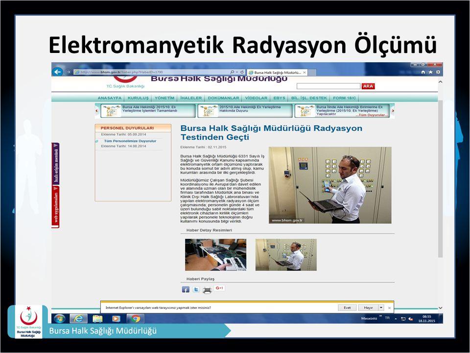 Elektromanyetik Radyasyon Ölçümü