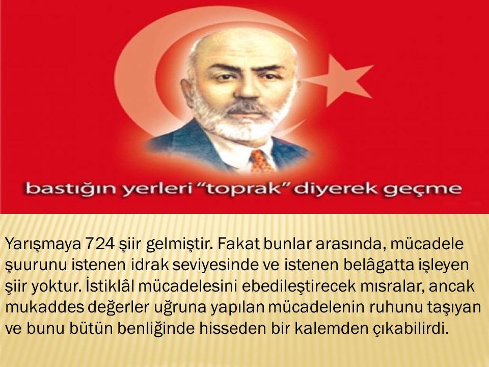 İlk akla gelen Mehmet Akif'ti.