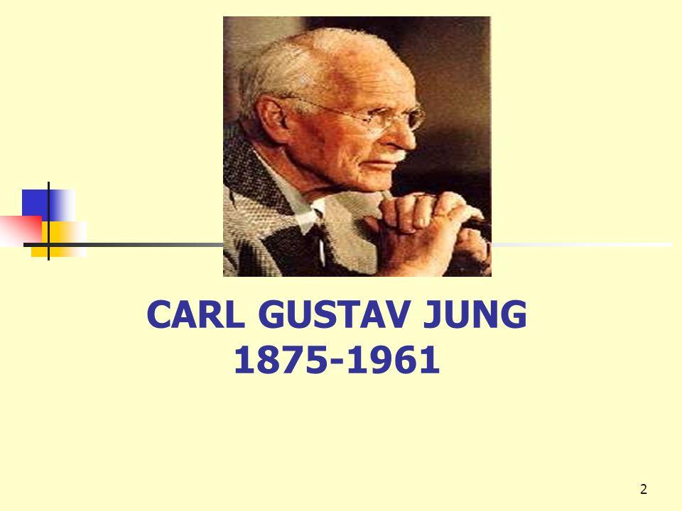 2 CARL GUSTAV JUNG 1875-1961
