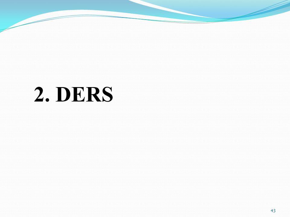 2. DERS 43