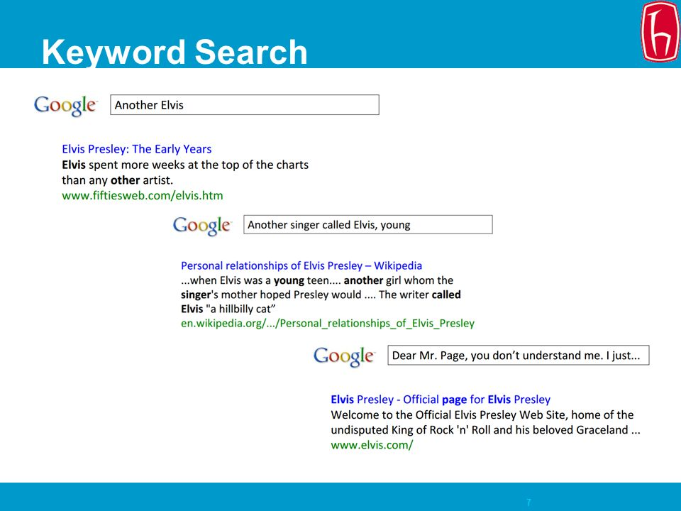 7 Keyword Search