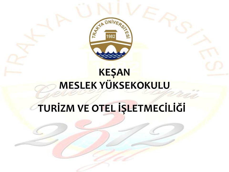 1994 - 1995 Eğitim Ve Öğretim yılında Turizm ve Otelcilik Programı adıyla okulumuz bünyesinde eğitime başlamıştır