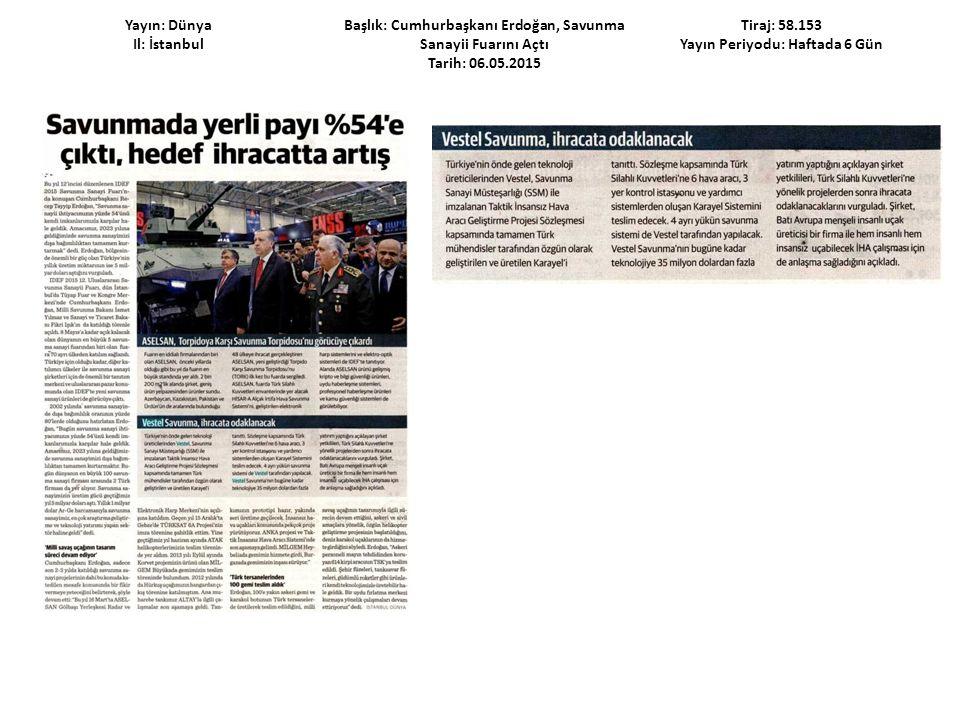 Yayın: Habertürk Cumartesi Il: İstanbul Başlık: Türk İmzalı Skyfe Hazır Tarih: 09.05.2015 Tiraj: 198.647 Yayın Periyodu: Haftalık
