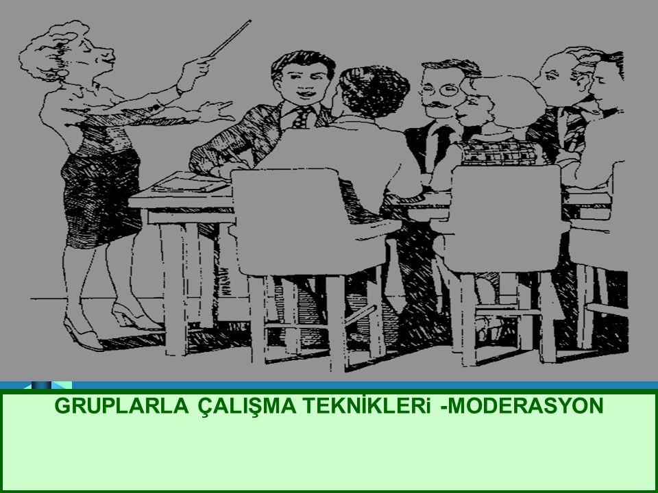 GRUPLARLA ÇALIŞMA TEKNİKLERi -MODERASYON AVRUPA BİRLİĞİ ORTAK TARIM POLİTİKASI