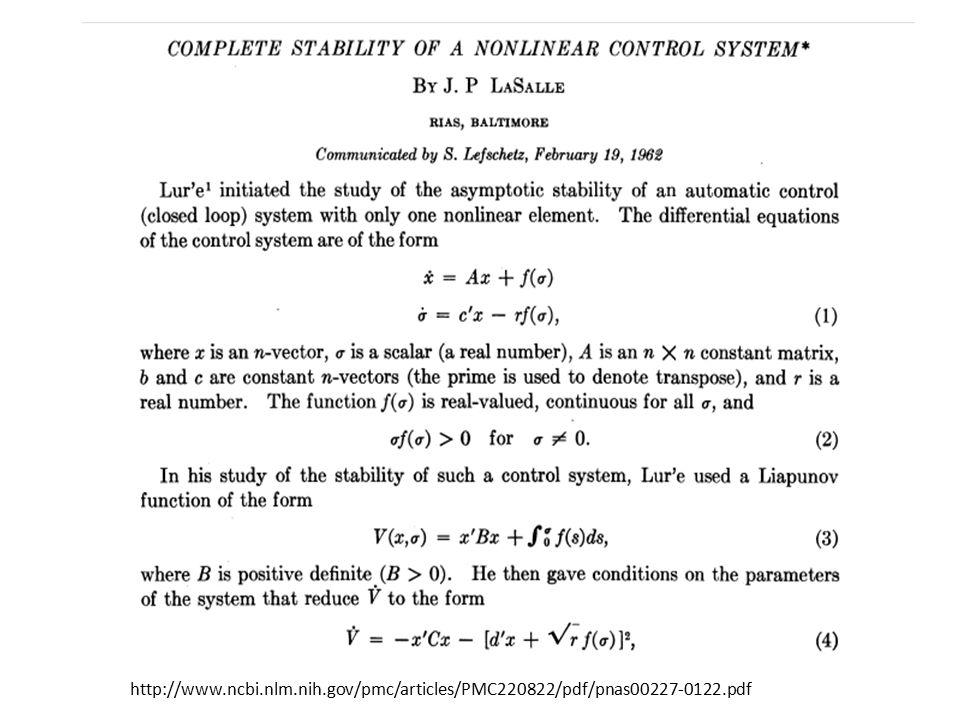 Soru: Sürekli zaman sistemi için denge noktalarını nasıl buluruz.
