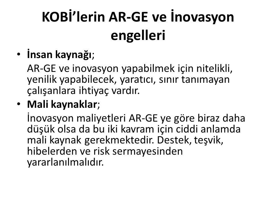 KOBİ'ler AR-GE İnovasyon konusunda nasıl bir strateji izlemeliler.