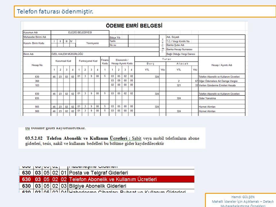 www.erkankaraarslan.org Telefon faturası ödenmiştir.