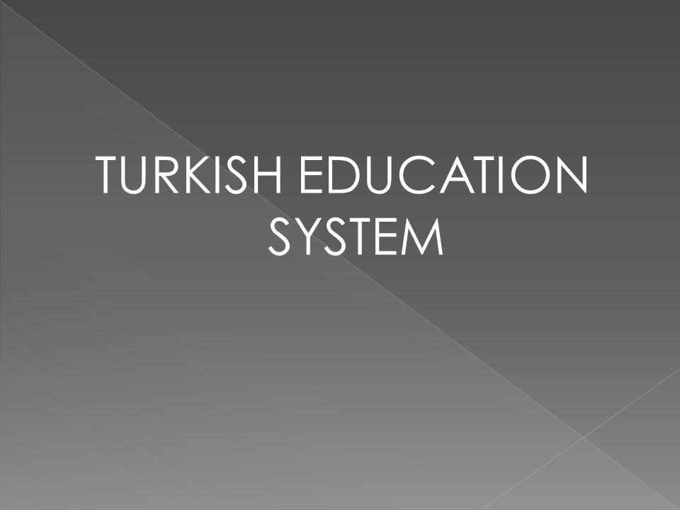  General Secondary Education Secondary schools Science schools Anatolian schools Anatolian Fine Arts schools Anatolia teacher training schools Foreign language school Vocational and Technical Secondary Education