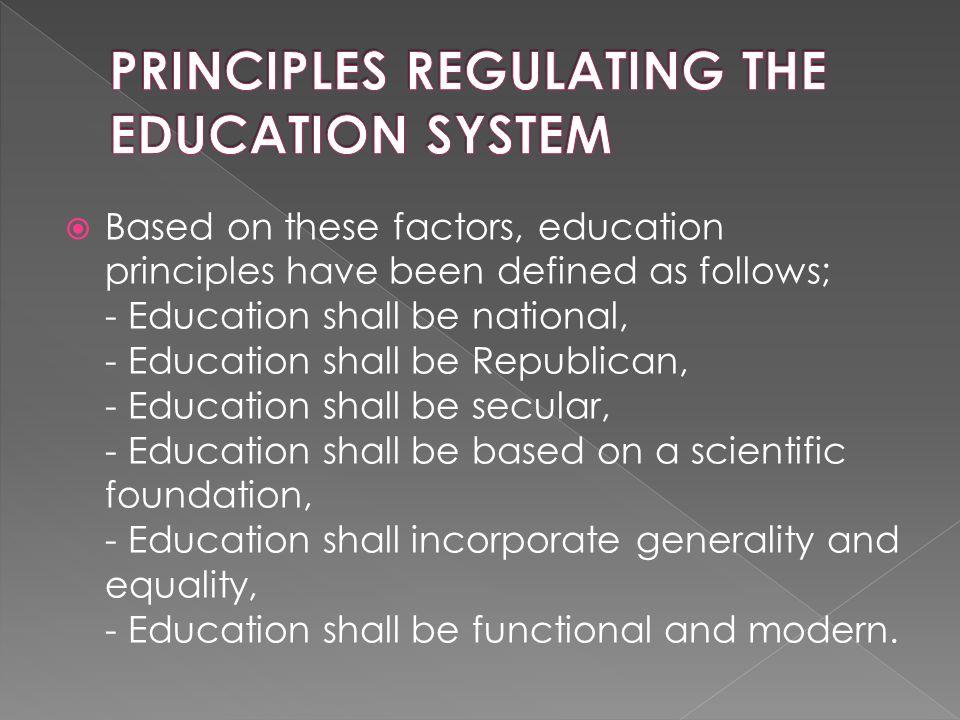 2.1.6.Permanent Councils 1. National Education Council 2.