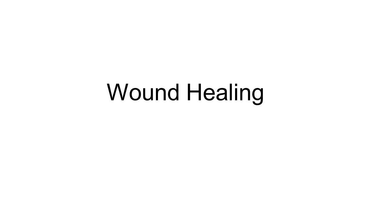 Acute Wound Chronic Wound