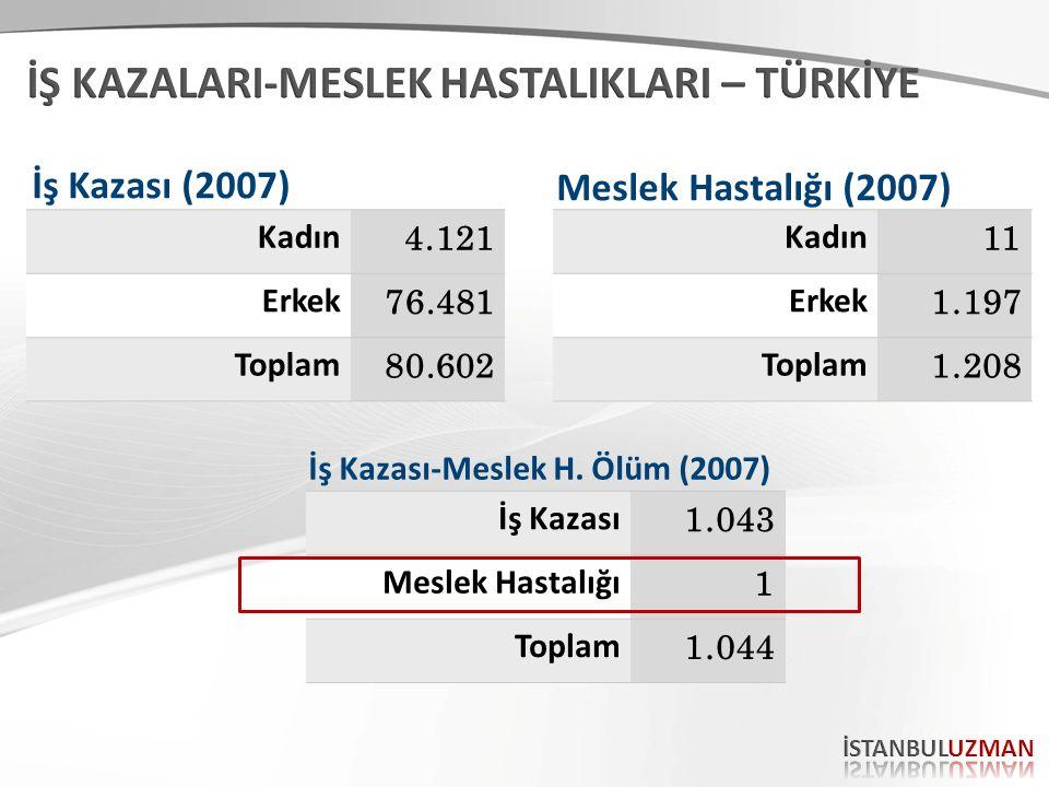 Konu; Türkiye ve Dünya'da İSG 57.
