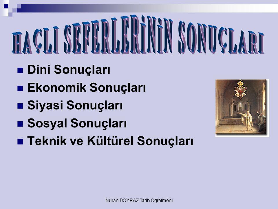 Nuran BOYRAZ Tarih Öğretmeni Anadolu Selçuklu Devleti'dir.