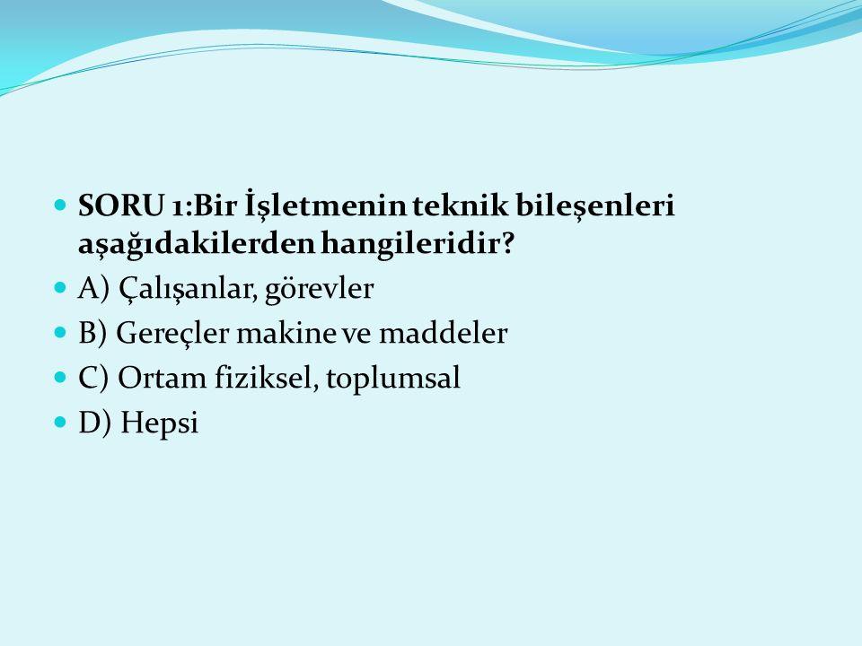 SORU 11:Çalışanların işyerinde maruz kaldıkları toksik maddelerin özelliklerine göre aşağıdakilerden hangisinin yapılması gerekmez.