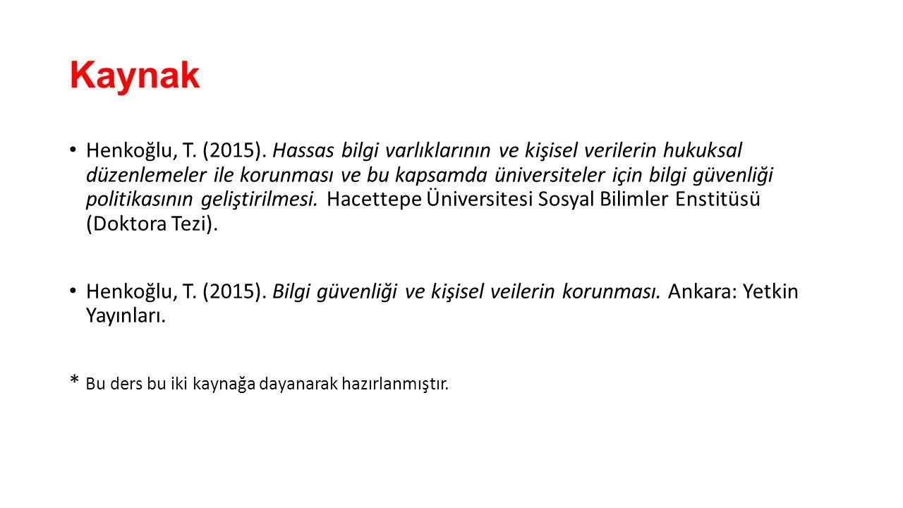 Kaynak Henkoğlu, T. (2015).