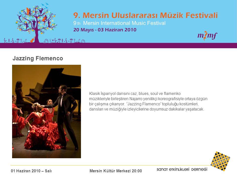Jazzing Flemenco Klasik İspanyol dansını caz, blues, soul ve flamenko müzikleriyle birleştiren Najarro yenilikçi koreografisiyle ortaya özgün bir çalışma çıkarıyor.