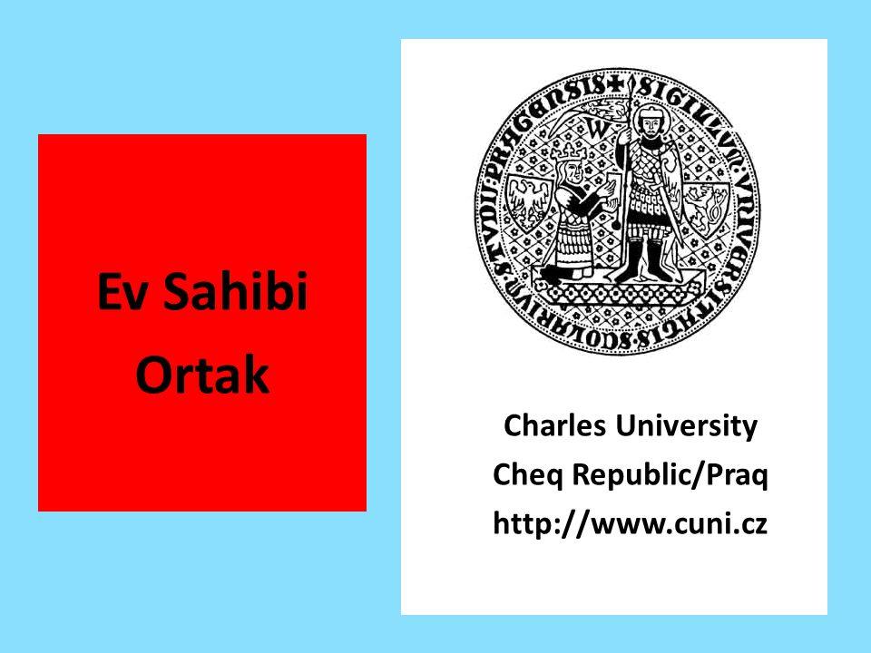 Ev Sahibi Ortak Charles University Cheq Republic/Praq http://www.cuni.cz